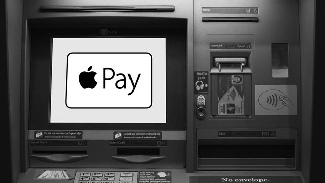 Photo of an Apple Pay Compatible ATM