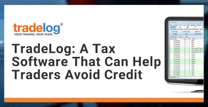 Tradelog Is Tax Software That Can Help Traders Avoid Credit