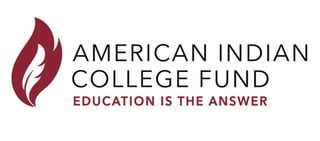 The American Indian College Fund logo
