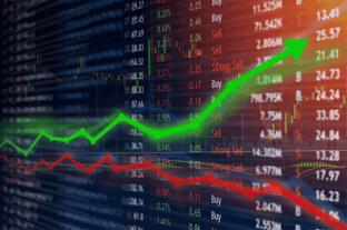 Stock Market Graphic