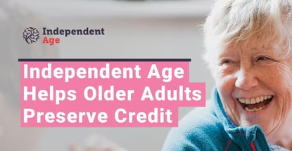 Independent Age Helps The Elderly Preserve Credit