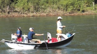 Fishing on the Yellowstone River