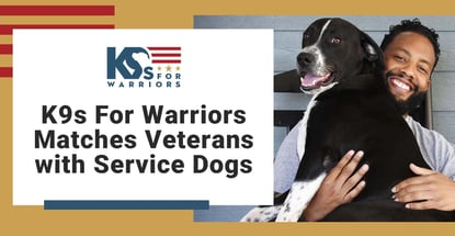 K9s For Warriors Matches Veterans With Service Dogs