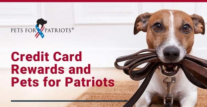 Credit Card Rewards And Pets For Patriots