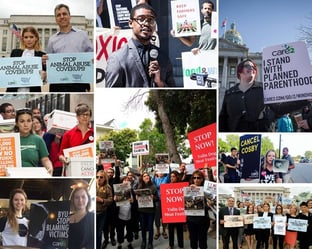 Activists Supporting Progressive Causes