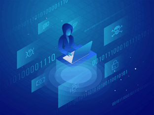 Digital Hacker Graphic