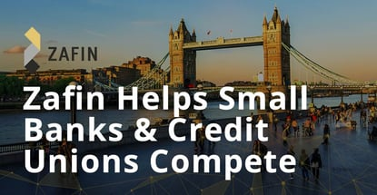 Zafin Helps Small Banks And Credit Unions Compete