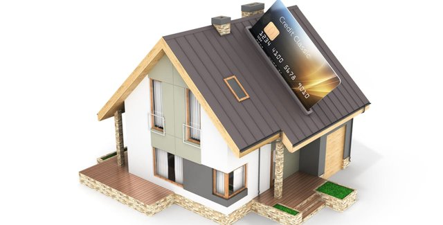 House and a Credit Card