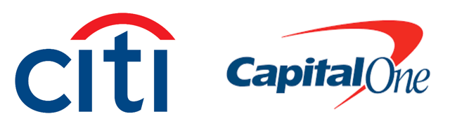 Citi and Capital One Logos