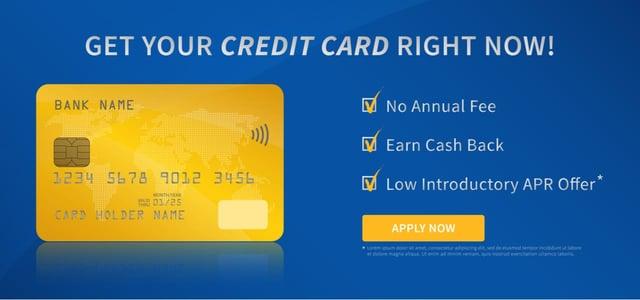 Generic Credit Card Ad
