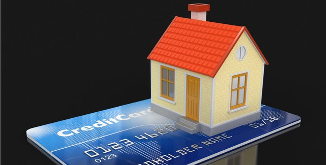 Credit Card and a House
