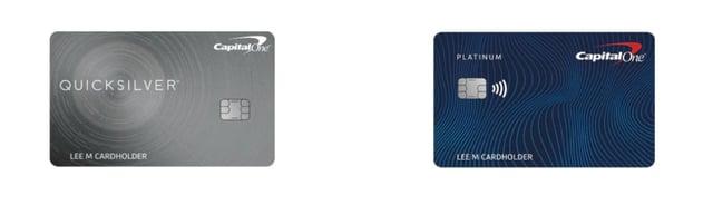 Capital One Quicksilver vs Platinum Card
