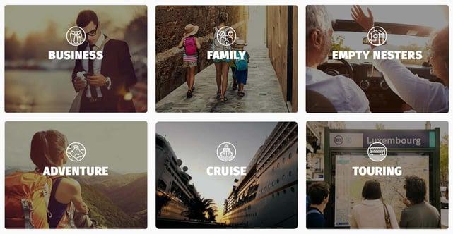 Screenshot from Yonder website