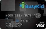 BusyKid Visa® Prepaid Spend Debit Card Review