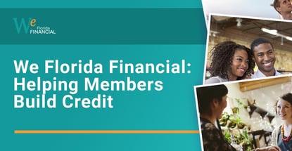 We Florida Financial Helps Members Build Credit