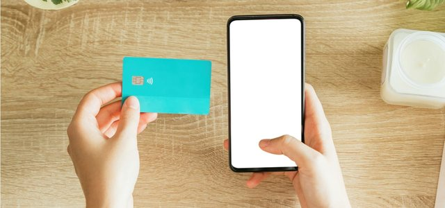 Credit Card and a Cell Phone