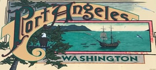 Photo of Port Angeles sign