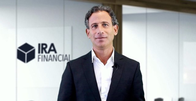 Photo of Adam Bergman, Founder and CEO of IRA Financial Group.