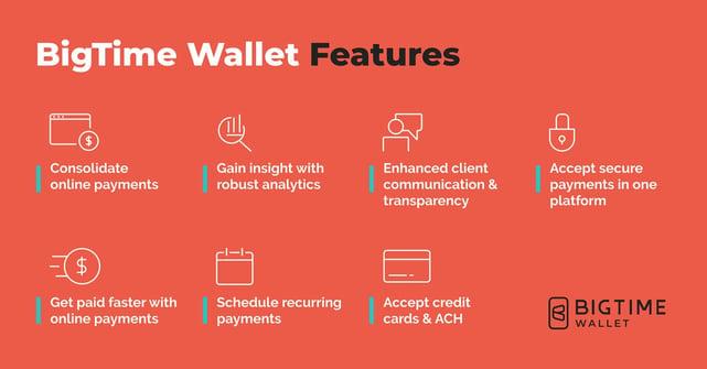 BigTime Wallet banner