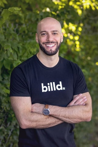 Photo of Jesse Weissburg, Billd's Co-Founder and CCO.