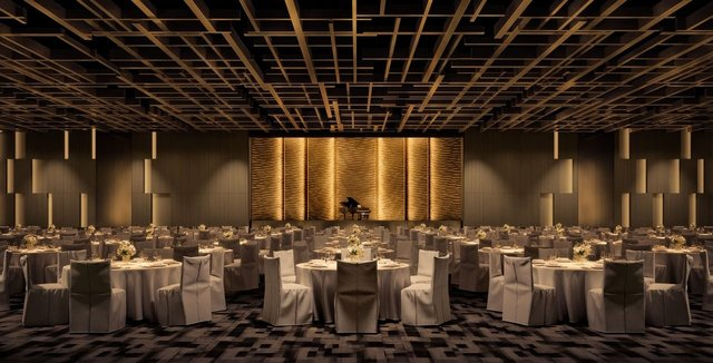 Photo of the Los Angeles Ballroom at the Fairmont Century Plaza.