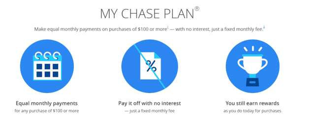 Screenshot from the Chase website.