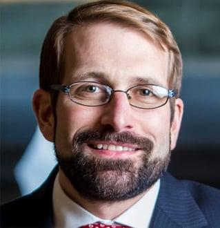 Photo of Dominik Mjartan, President and CEO of Optus Bank.