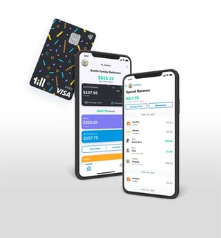 Graphic of Till Card and App