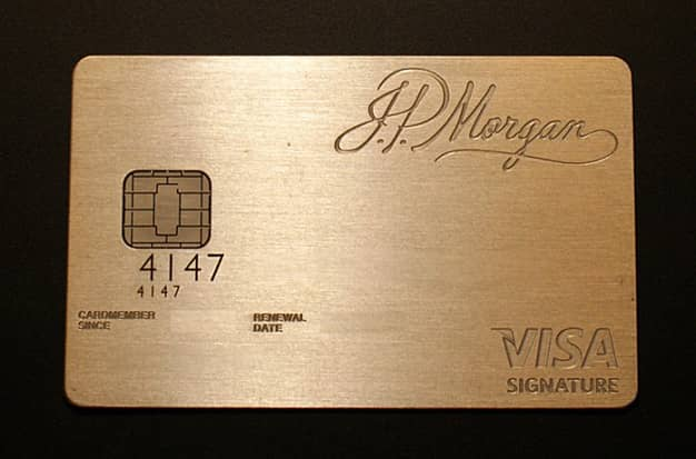JP Morgan Palladium Card