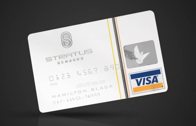 Stratus Rewards Visa White Card