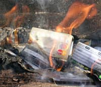 Burning Credit Cards