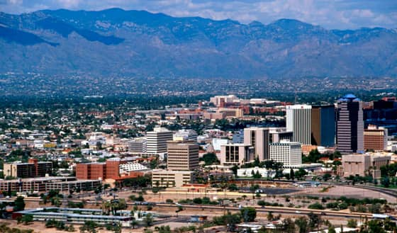 A Photo of Tucson, Arizona