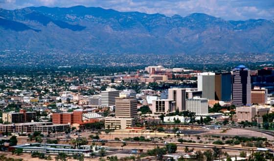 A Photo of Tucson, Arizona
