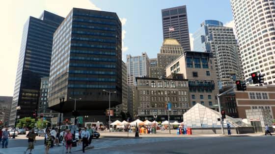 A Photo of Boston, Massachusetts