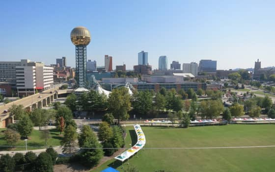 A Photo of Knoxville, Tennessee