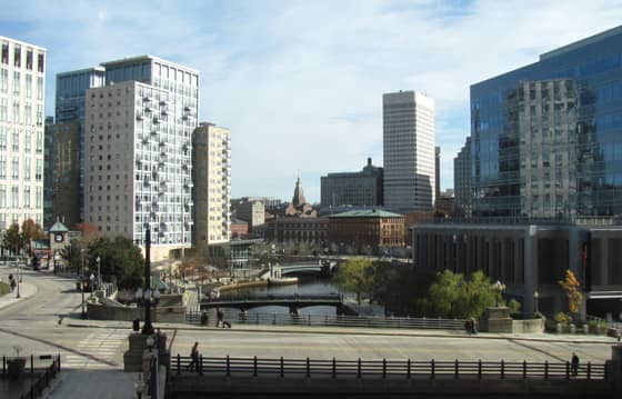 A Photo of Providence, Rhode Island