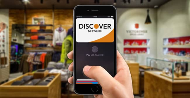 Apple Pay Now Features Support for Discover Cards
