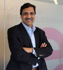 Photo of edX CEO Anant Agarwal