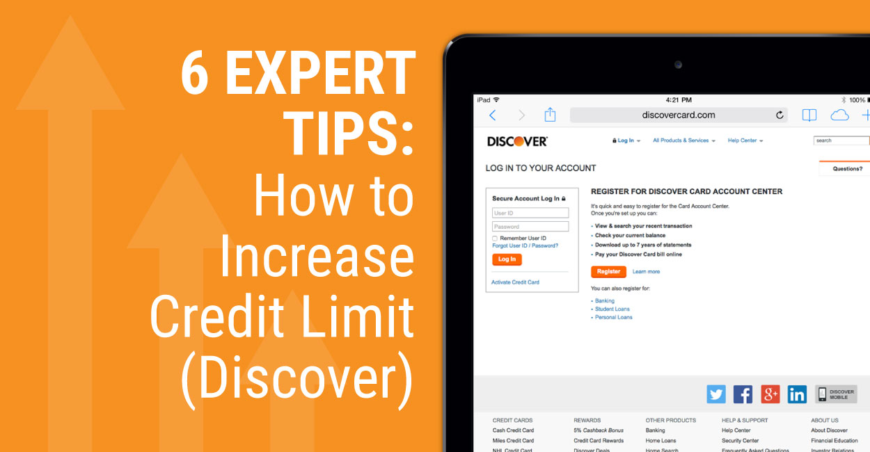 6 Expert Tips → How to Increase Credit Limit (Discover)