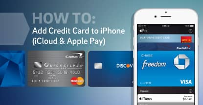 How To: Add Credit Card to iPhone (iCloud & Apple Pay)
