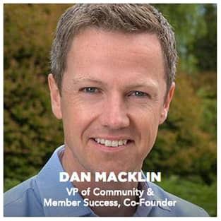 Image of Dan Macklin, SoFi Co-Founder and VP of Community & Member Success