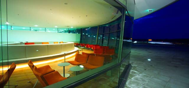Photo of Diners Club Lounge in Graz Airport, Austria.