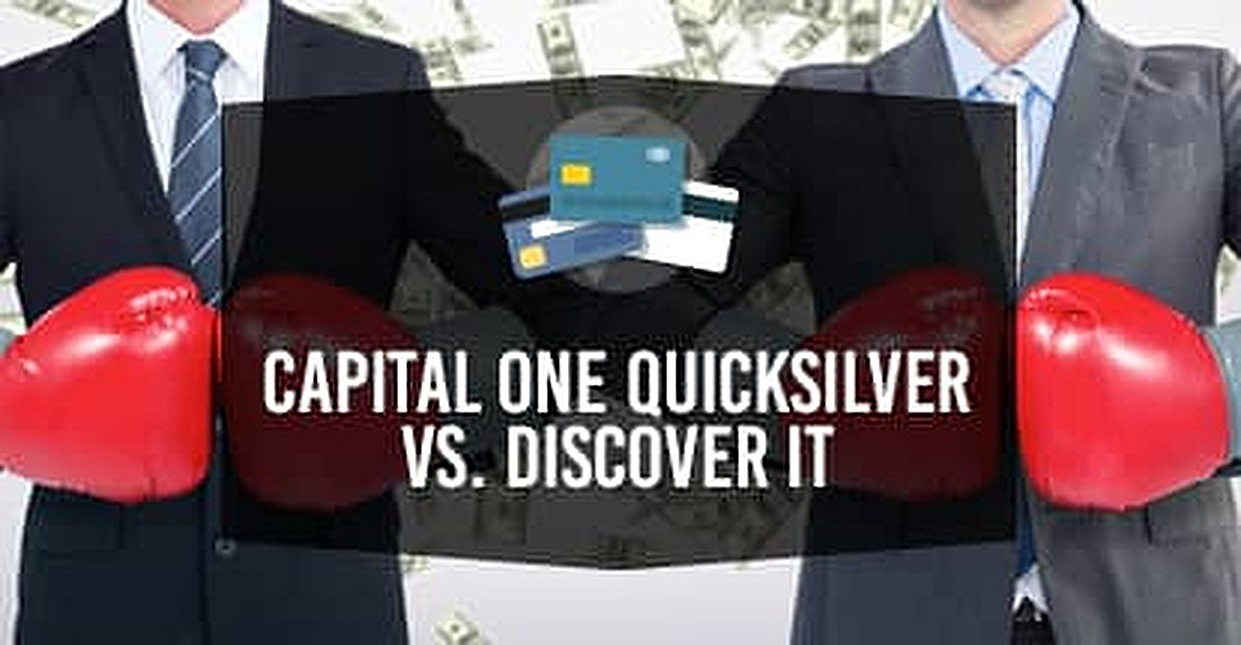 Capital One® Quicksilver® Cash Rewards Credit Card VS. Discover it® (4 Key Differences)