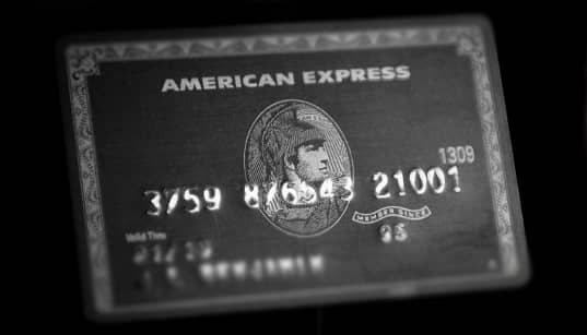 A photo of the AmEx Black Credit Card