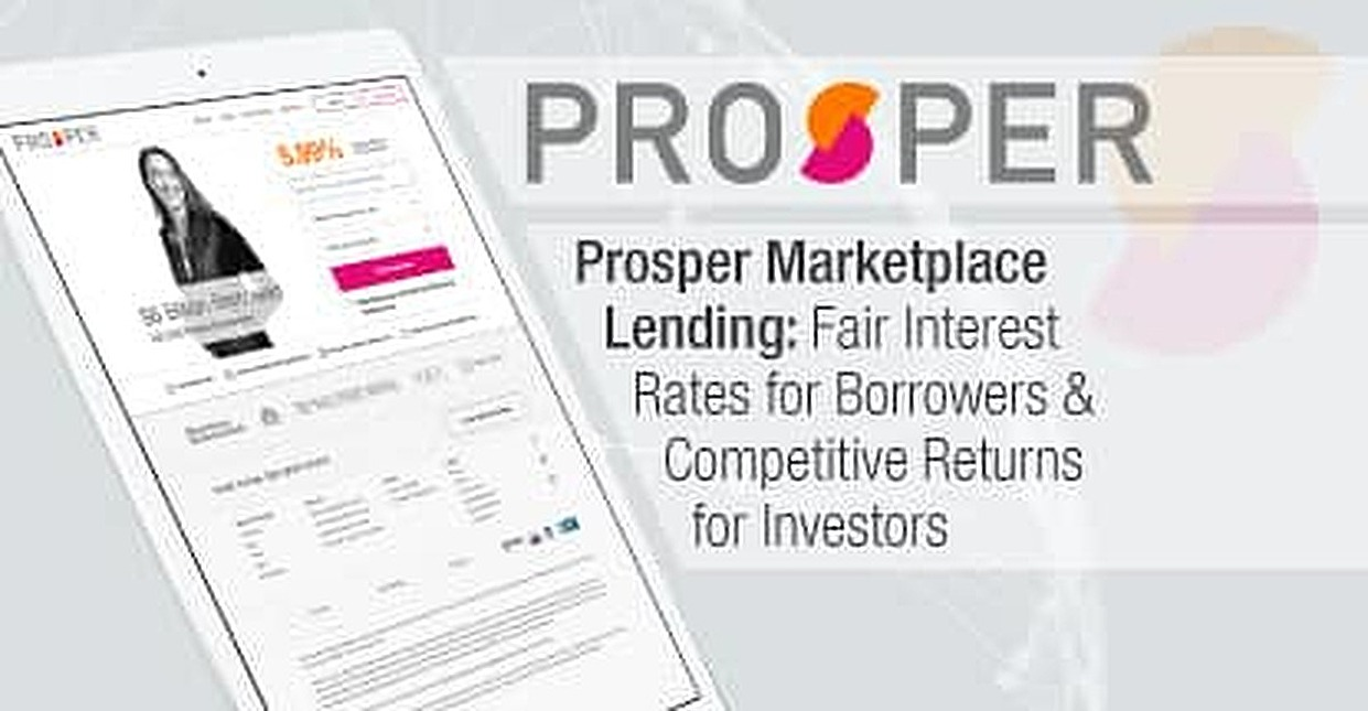 Prosper Marketplace Lending: Fair Interest Rates for Borrowers & Competitive Returns for Investors