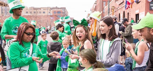 Bellco-sponsored St. Patrick's Day Parade in Denver