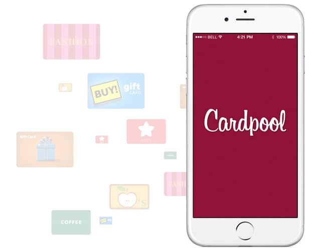Cardpool now offers an iPhone app