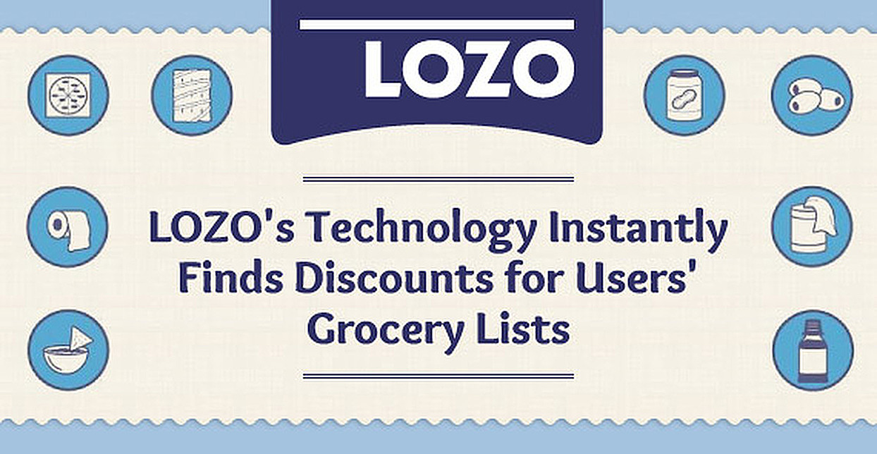 LOZO's Technology Instantly Finds Discounts for Users' Grocery Lists