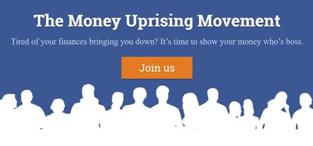 Money Uprising Movement pitch