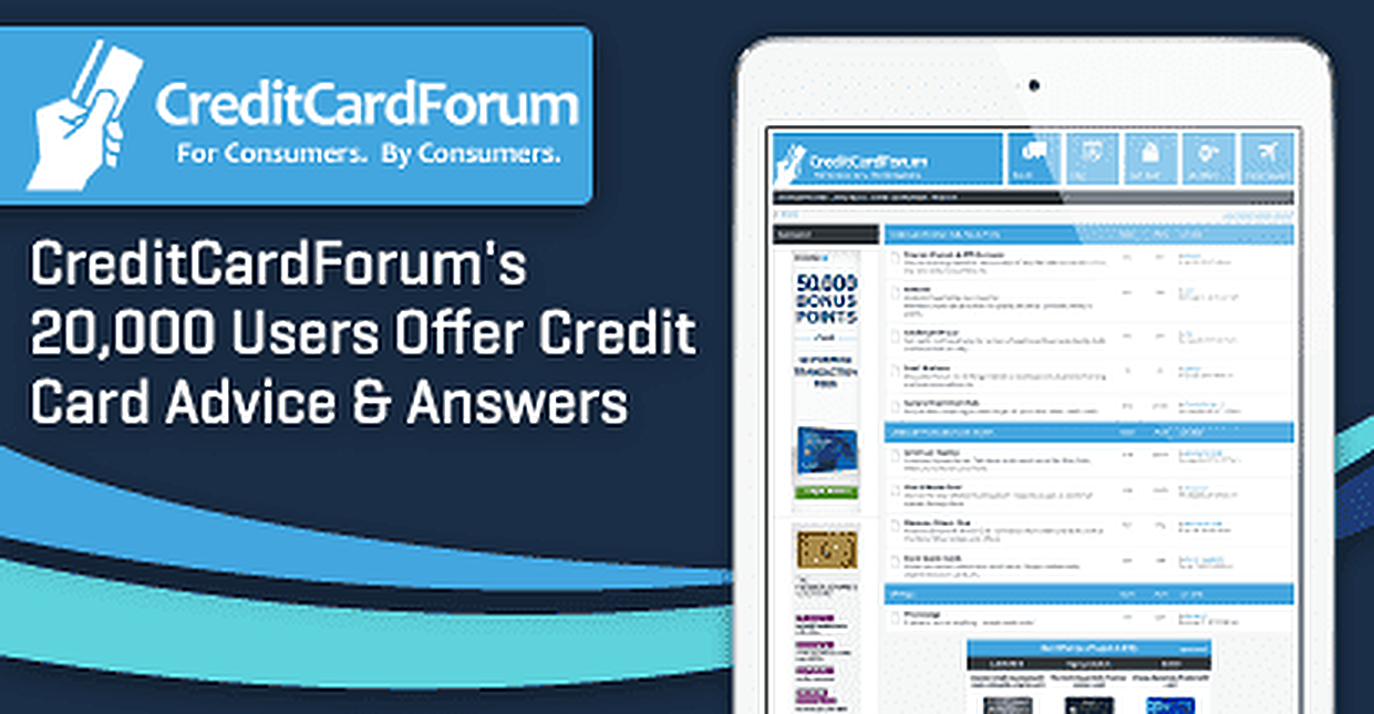 CreditCardForum's 20,000 Users Offer Credit Card Advice & Answers